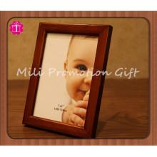 Cadre de photo en cadre d'image en bois
