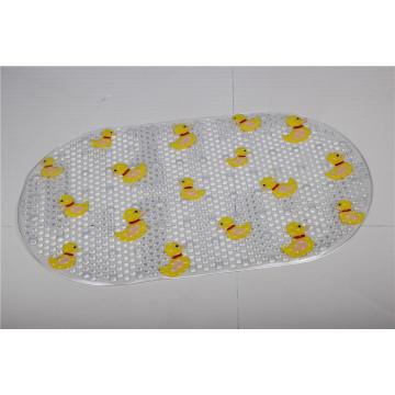 Caliente-Venta Emboss la estera de baño de la espuma de la memoria / la estera de baño antideslizante del PVC