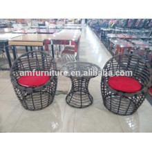 Best Selling 3-Piece rattan Chat Set