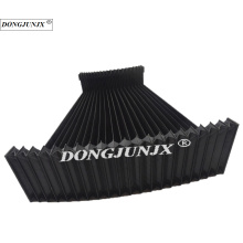 Insulated material rubber folding dust boot shield cover