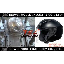 Injeção de prefabricado de molde de capacete de equitação de plástico
