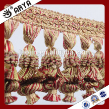 Stock Chinese Manufacture Products for Home Decoration of Curtain Decorative Long Tassel Fringe