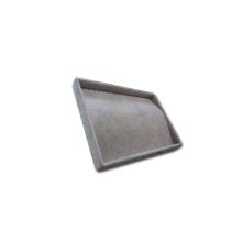 Grau-Samt-Schmucksache-mehrfacher leerer Behälter China-Hersteller (TY-NP20-GV)