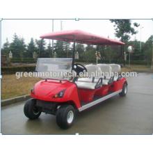 China elektrische 6-Sitzer-Golfwagenbatterie angetrieben für Verkauf