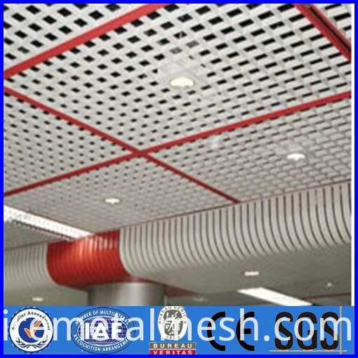 11.7mm Thick Perforated Metal Mesh