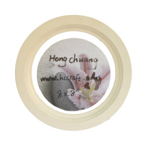 Round Wooden Photo Frame for Home Deco