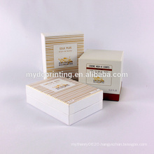 Luxury Custom Printed coemstic packaging with EVA insets