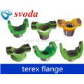 Flange Terex Intput 06777070 para caminhão basculante Terex