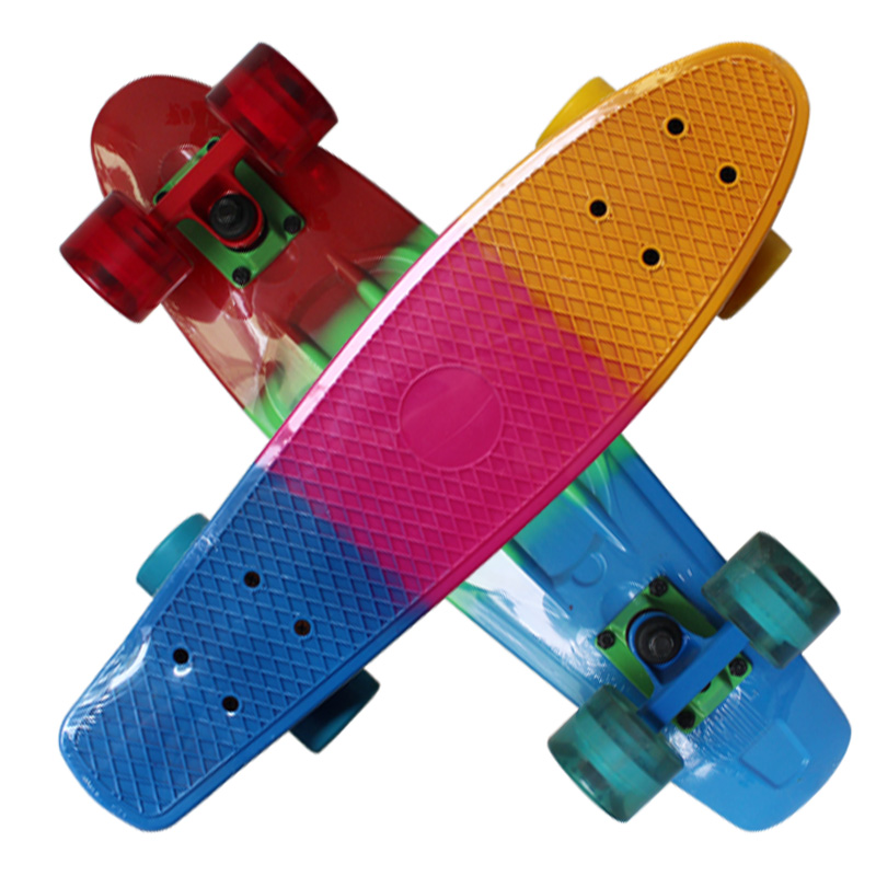 Three Color Skateboard