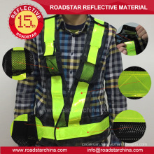 150g Breathable holes reflective mesh vest