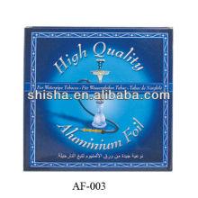 shisha aluimnum folha de alumínio de cachimbo de água