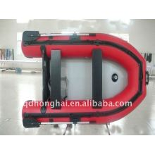CE hh-s270 small fishing bottom view pvc inflatable boat manufacturer