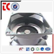 China famoso aluminio piezas de fundición / adc12 fundición de aluminio parte / redonda negro shell de tiro