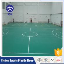 Professional sport floor palstic flooring basketball court pvc floor