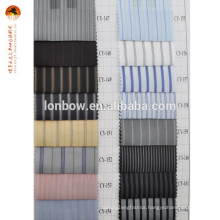 100 polyester men stripe inner lining fabric