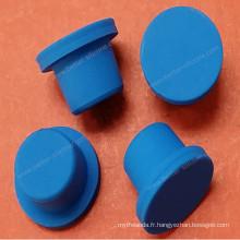 Bouchons en caoutchouc de silicone de flacon conique de laboratoire fait sur commande