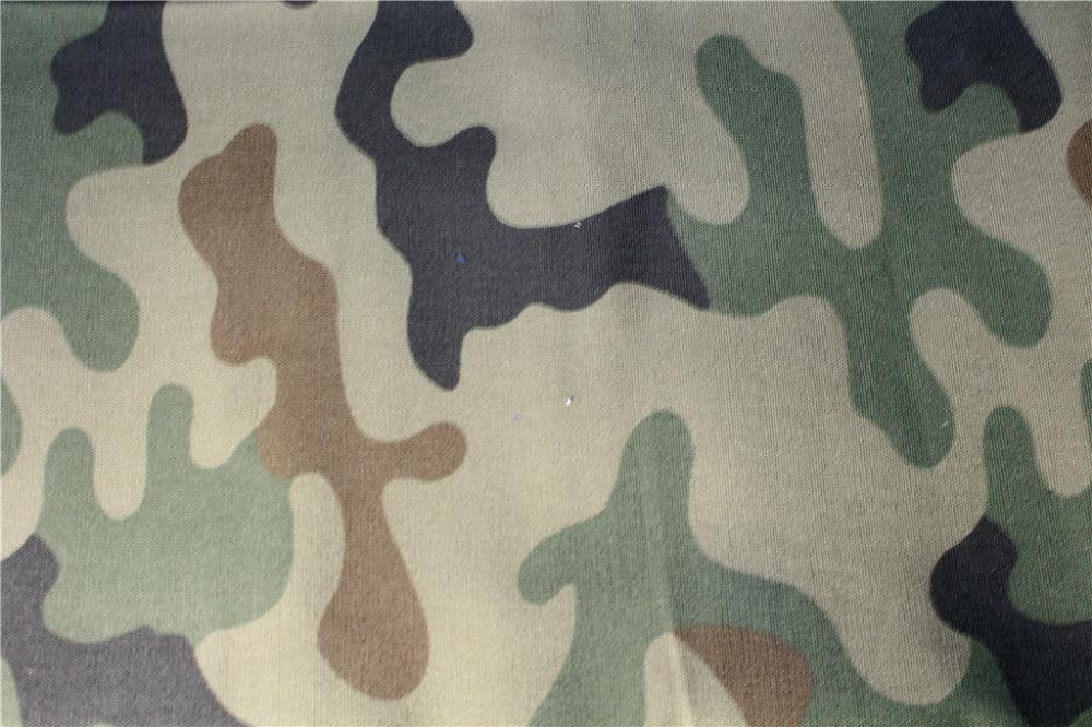 Simple Camouflage Print