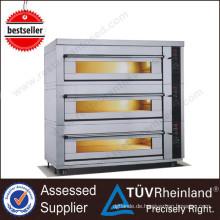 Neue Art Handelsgas / elektrischer K626 Küchen-französischer Stangenbrot-Bäckerei-Ofen