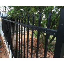 Exterior Ornamental Wrought Iron Residential Fence