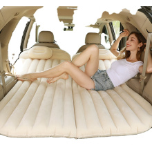 Inflatable Car Air Mattress with Back Seat Pump Portable Travel,Camping,Vacation Sleeping Blow-Up Bed Pad fits SUV,Truck,Minivan