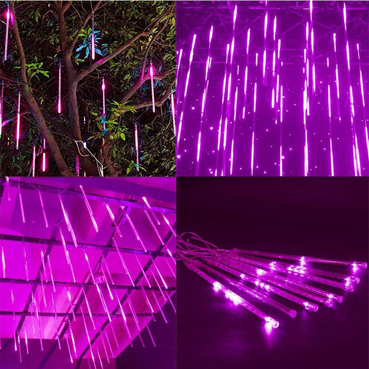 led icicle lights shooting star