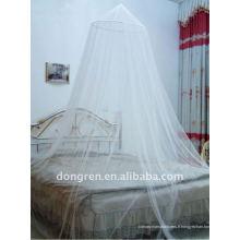 Canopée de lit princesse pour moustiquaires circulaires pour filles et enfants