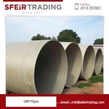 Tubos ligeros y duraderos de fibra de vidrio de GRP de Best Seller