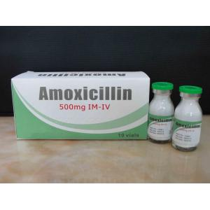 Factory Supply Factory price for Macrolide Antibiotics Amoxicillin for Injection BP 500MG supply to Kiribati Suppliers