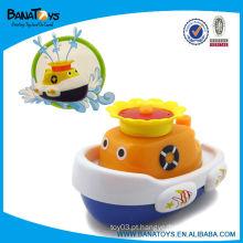 Interessante plástico barco bebê banho squirt brinquedos