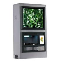 Teléfono móvil cargador quiosco; Pantalla LCD para mostrar anuncios