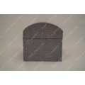 Linen rivet ox horn buckle storage box