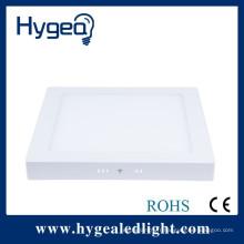PF> 0,9 CRI> 85RA 100LM / W Garantie de 2 ans lumière de panneau carrée