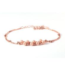 África jóias grânulos sorte pulseira de ródio chapeado charme
