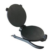 Pressionador de tortilla de ferro fundido de 8 polegadas com alça