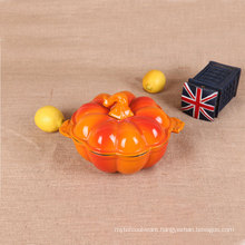 Enameled Cast Iron Pumpkin Casserole