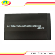 USB2.0 3.5 SATA / IDE External Aluminium HDD Caddy
