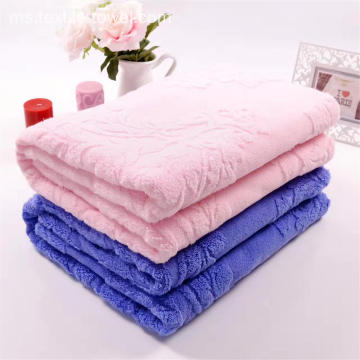 Higt Kualiti Pink 70x140cm Towel Coverlet
