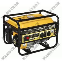 Generador de gasolina de 4 tiempos refrigerado por aire monofásico