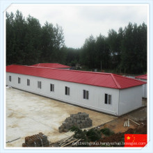 China Q345 Green Light Steel Prefabricated Warehouse