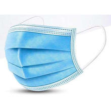 Protective disposable medical face mask