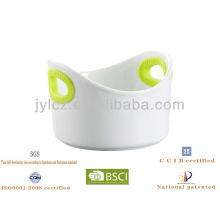 Molde de cerámica con mango de silicona