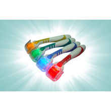Photon Red, Blue, Green, Yellow Color Led Derma Microneedle Roller For Pigment Softened