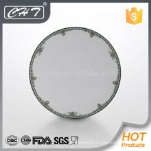 A041 10.5 placas de cerámica de cerámica de hueso