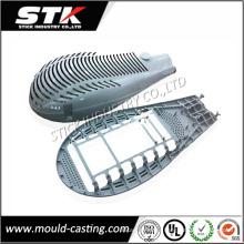 Aluminio Die Cubra la cubierta de la lámpara para la parte de la iluminación (STK-ADO0005)