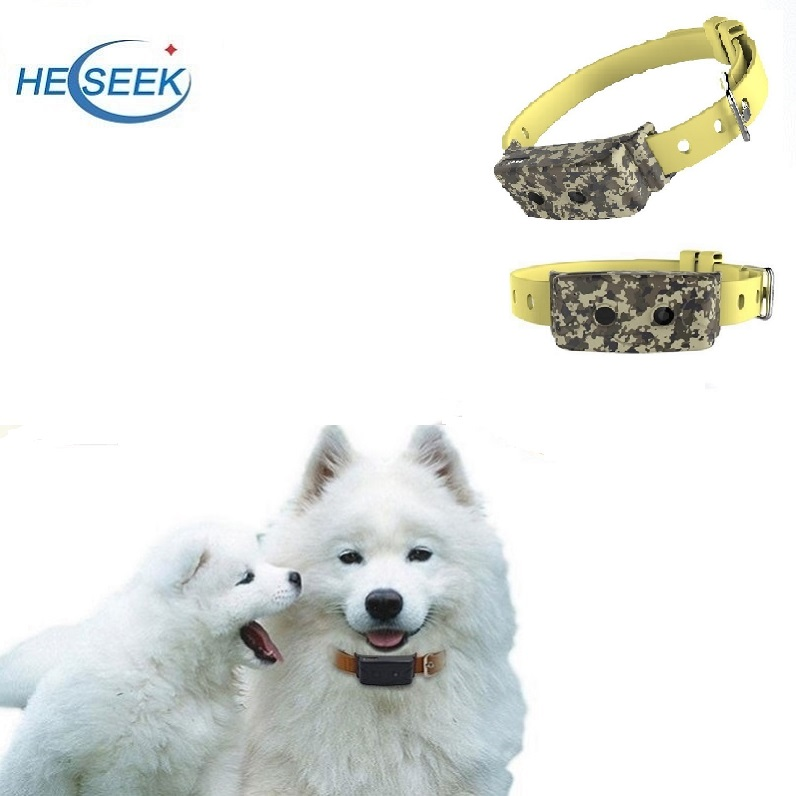 GPS Tracker Collar Pet Dog with Camera