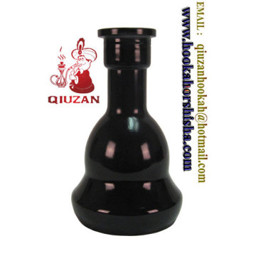 Grand format Noir narguilé bouteille Shisha Vase à vendre