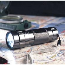 Lampe de poche en aluminium LED 14 (torche) (12-1H0009)