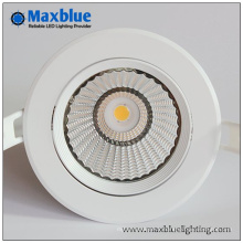 Dimmable modernement encastré COB LED Downlight