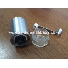 Moedor de café removível Moedor de café cerâmico Burr moedor de café manual de aço inoxidável / manivela moedor de café / mini café