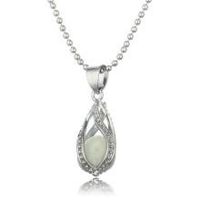 Оптовые новые моды дизайн ожерелье светящиеся ожерелье камень женщин